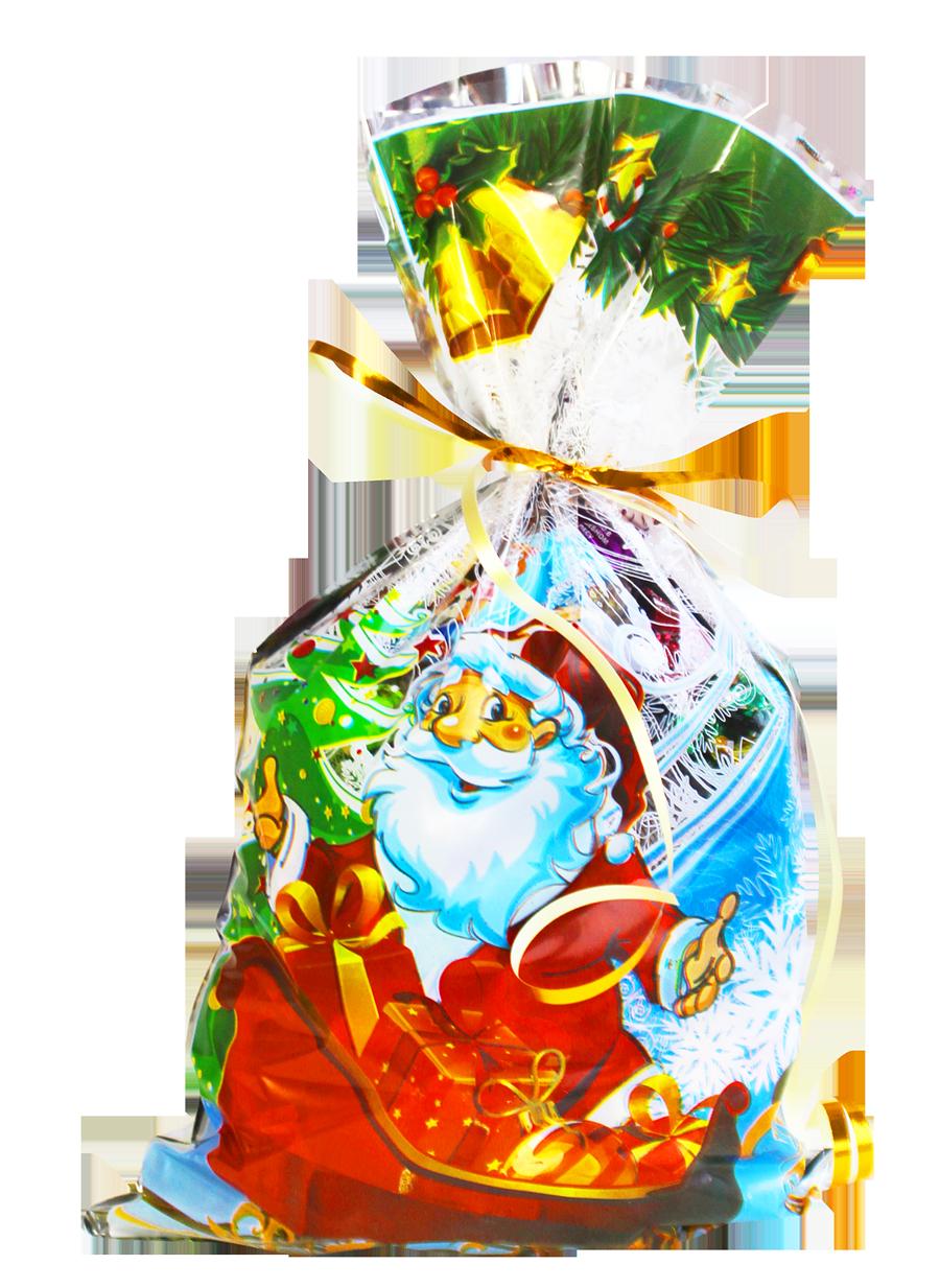 Новогодние подарки для детей с конфетами